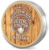 Best Deal Beard Balm Cedar & Pine Scent w/Argan & Jojoba Oils - Styles, Strengthens & Softens Beards & Mustaches - Leave in Conditioner Wax for Men by Viking Revolution …
