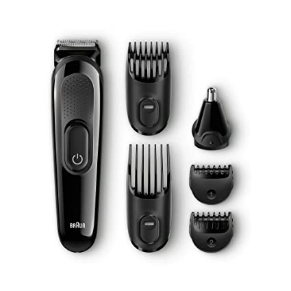 Braun MGK3020-6-in-One Multi Grooming and Trimmer Kit (Black)  Amazon.in   Health   Personal Care ef5a8300472