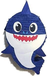 IPINATA Blue Shark Pinata