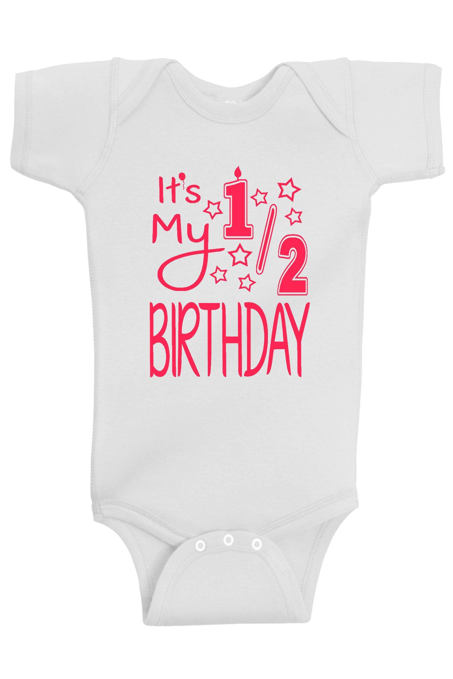 ddde8dd31 Reaxion Aiden s Corner - It s My Half Birthday 1 2 Baby Girl ...
