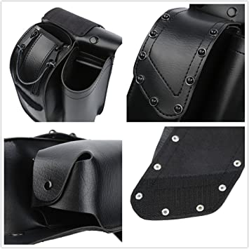 Saddlebag Guard Bag Water Bottle Holder Left Right For Harley Touring Models USA
