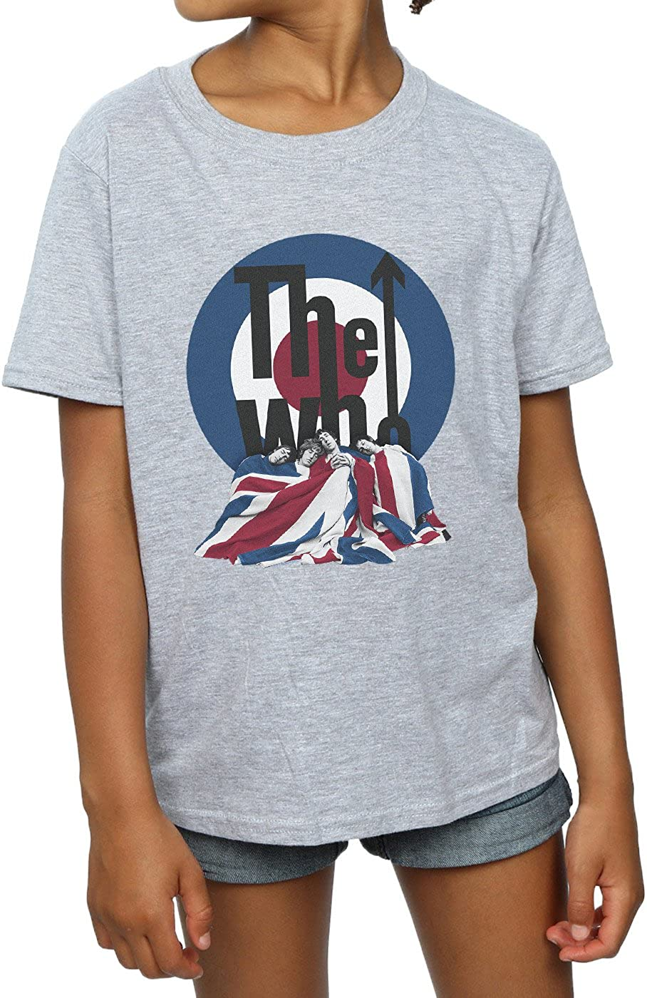 Absolute Cult The Who Girls Flag Blanket T-Shirt