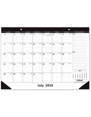 Printable Academic Calendar 2020-16 Desk Calendars | Shop Amazon.com
