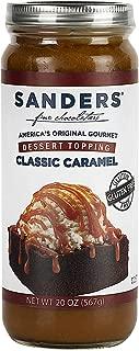 product image for Sanders Caramel Topping Sauce, Ice Cream Sundae Dessert Topping, 20 oz Jar