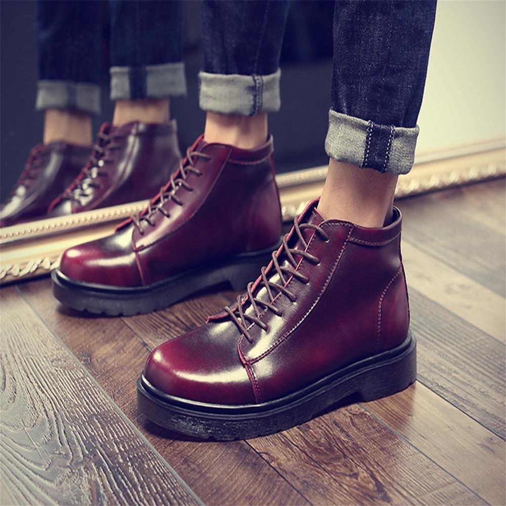 Winter-Trend Freien Herren Stiefel hohe Pl¨¹sch Baumwolle im Freien Winter-Trend rutschfeste Schuhe 2b0d73