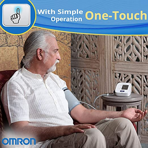 Omron HEM 7120 Upper Arm Automatic Blood Pressure Home BP Monitor Bp Machine Hem 7120