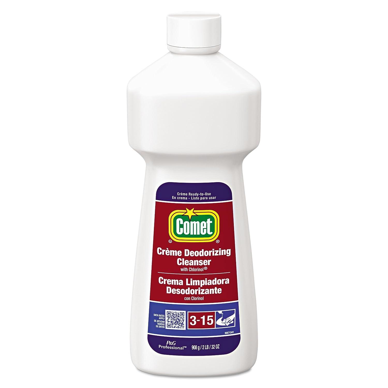 Comet 73163 Crème Deodorizing Cleanser, 32oz Bottle (Case of 10)