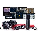 Focusrite Scarlett Solo Studio (3rd Gen) USB Audio Interface plus Waves Musicians 2 and iZotope Mobius Filter Recording Bundl