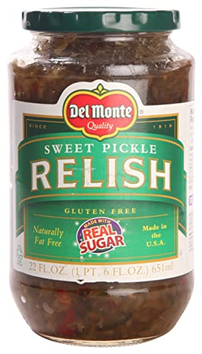 Del Monte Pickle Relish Sweet 651ml Pack Amazon In