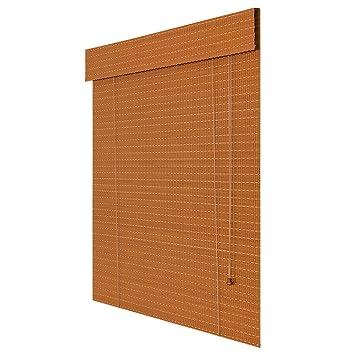 Amazon De Zemin Bambus Raffrollo Bambusrollo Fenster Vorhang