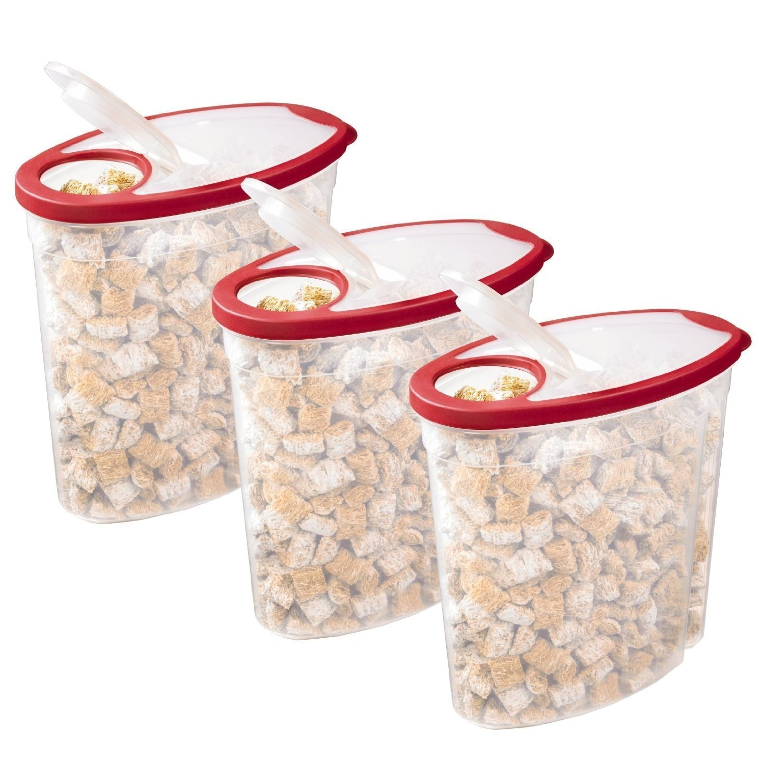 Rubbermaid cereal snack storage container each 1 5 gallon for Cereal organizer