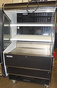 USED FEDERAL RSSM360SC-3-36 REFRIGERATED GRAB N GO CASE, 120/208-240V.
