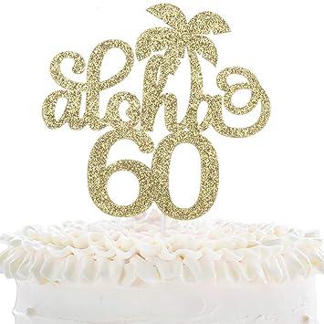Phenomenal 60Th Anniversary Cake Topper 60Th Birthday Cake Topper Happy 60Th Funny Birthday Cards Online Alyptdamsfinfo
