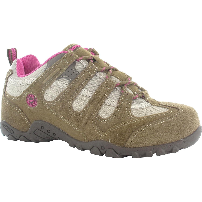 Hi-Tec Quadra Classic Damen Trekkingschuhe Outdoor Schuhe Wanderschuhe Braun