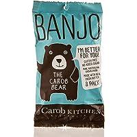 The Carob Kitchen Banjo Carob Bear Milk 8 Bars, Gluten Free, No Added Sugar, Natural, ACO Certified Organic, Non GMO, 8…
