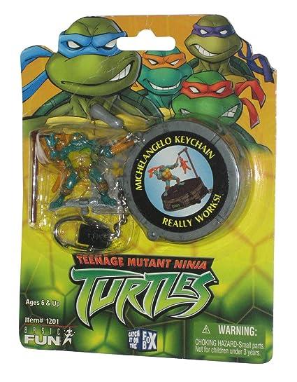 Amazon.com: PlayMates TMNT Michelangelo (2003) Basic Fun ...