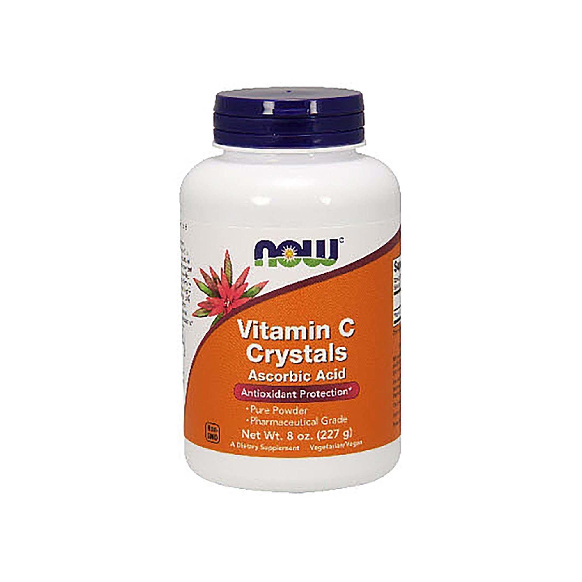 Now Foods Vitamin C Crystals, 8oz/227g