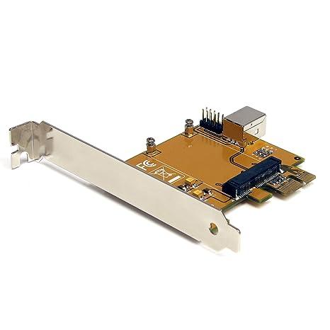 StarTech.com PCI Express to Mini PCI Express Card Adapter - Mini PCI card adapter - PCIe - PEX2MPEX