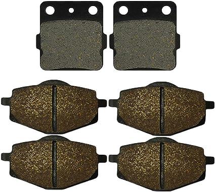 AHL Semi-metallic Brake Pads Set for Yamaha Warrior YFM350 1987-1988