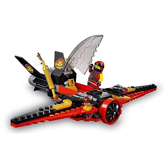 LEGO Ninjago - Caza del destino, Juguete de Construcción de Aventuras Ninja, Incluye Avión con Cañones (70650)
