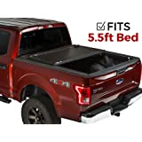 Gator EVO Hard Folding Bi-Fold Tonneau Truck Bed Cover 2015-2018 Ford F150 5.5 ft Bed