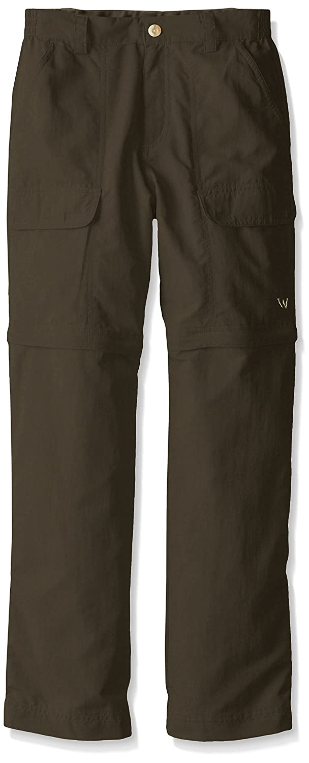 White Sierra Youth Trail Convertible Pant X9711Y-STN