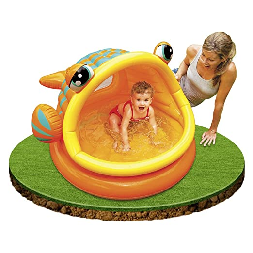 Intex Baby Pool - Lazy Fish (Piscina Baby) in offerta