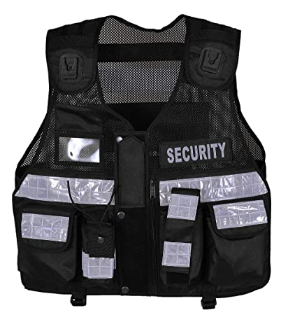 First Aid Dog Handler CCTV Tactical Vest Security Tac Vest