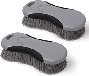 MR.SIGA Multi-Purpose Heavy Duty Scrub Brush - Pack of 2