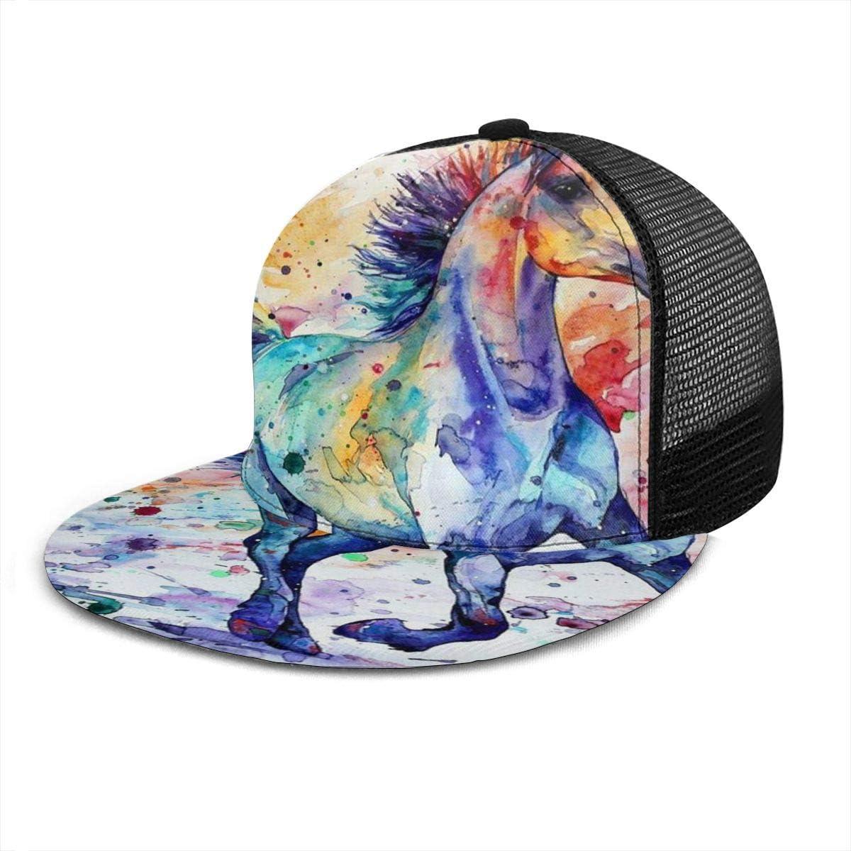 Gorra de béisbol con diseño de Caballo Corriendo de