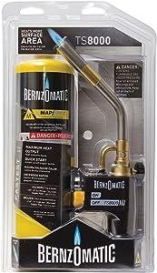 Bernzomatic TS8000BZKC Premium Trigger-Start Torch Kit