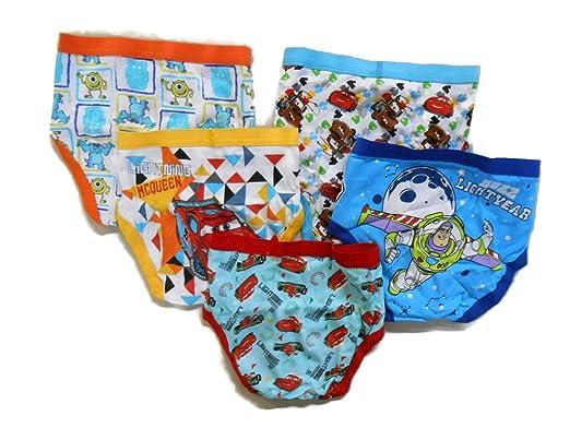Amazon.com: Disney Little Boys Pixar 5-Pack Brief (Models May Vary): Briefs Underwear: Clothing