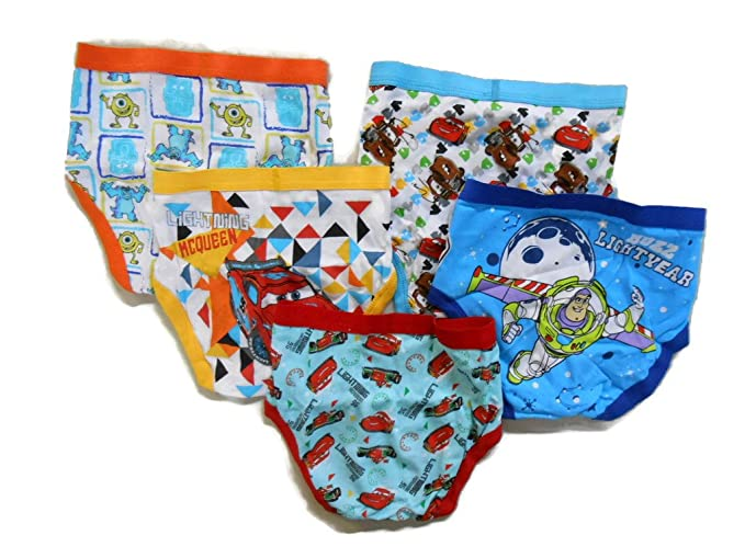 Disney Little Boys/' Toy Story 5-Pack Brief