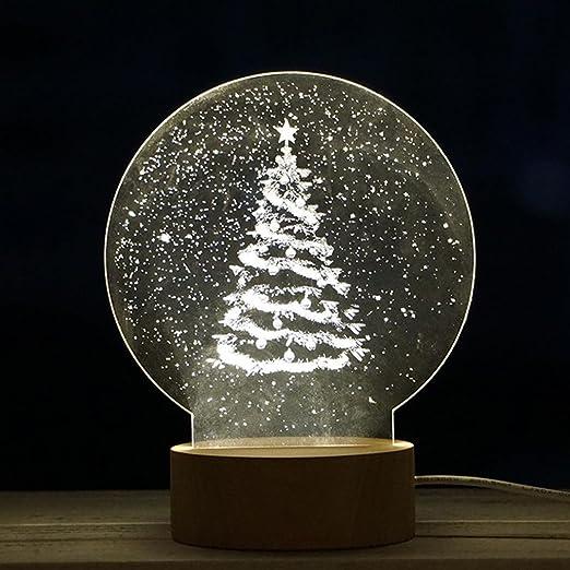 Amazon.com: Tabla de regalo. Navidad 3d Ilusión óptica ...