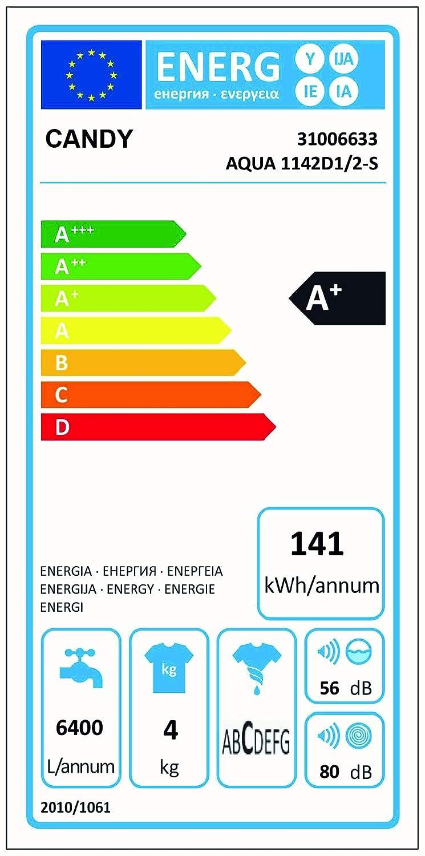 Candy Aqua 1142 D1 Waschmaschine FL / A+ / 141 kWh/Jahr