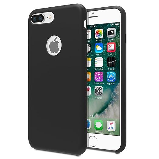 11 opinioni per MoKo Case per iPhone 7 Plus- Cover Protettiva Leggera di Silicone Flessibile