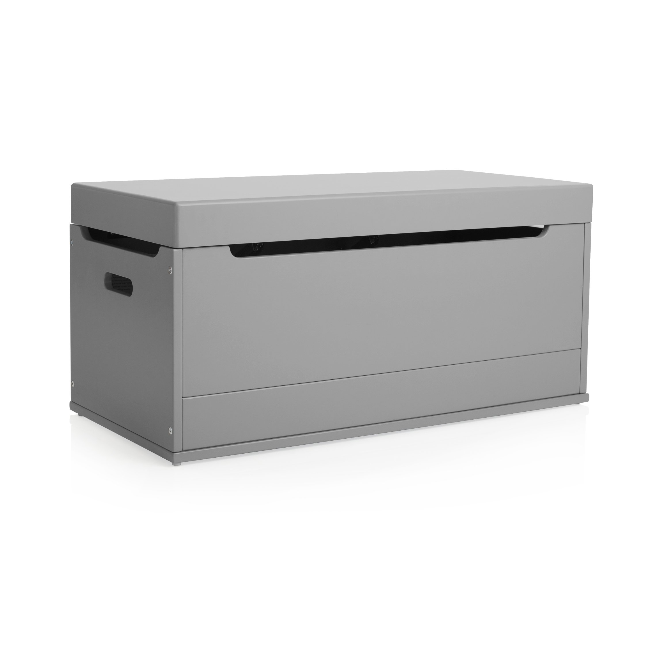 Guidecraft Brooklyn Toy Box Charcoal - Kids' Toy Chest, Trunk, Storage Furniture