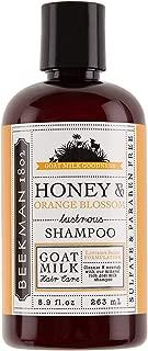 product image for Beekman 1802 - Shampoo - Honey & Orange Blossom - Color-Safe Goat Milk Shampoo - Naturally Moisturizing Sulfate-Free Shampoo for All Hair Types & Textured Hair - Goat Milk Hair Care - 8.9 oz