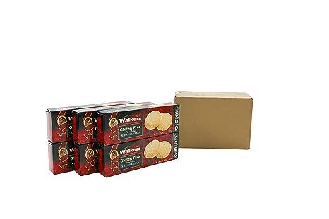 Walkers Shortbread Rounds Postre sin Gluten - 4 Paquetes de 1 x 140 gr - Total: 560 gr: Amazon.es: Alimentación y bebidas