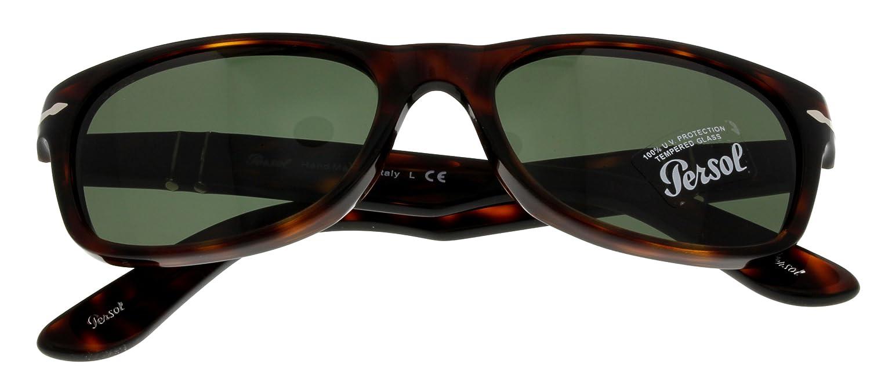 ded4b7c41 Persol Sunglasses Unisex Havana PO 2953-S 24/31 Wayfarer: Amazon.co.uk:  Clothing