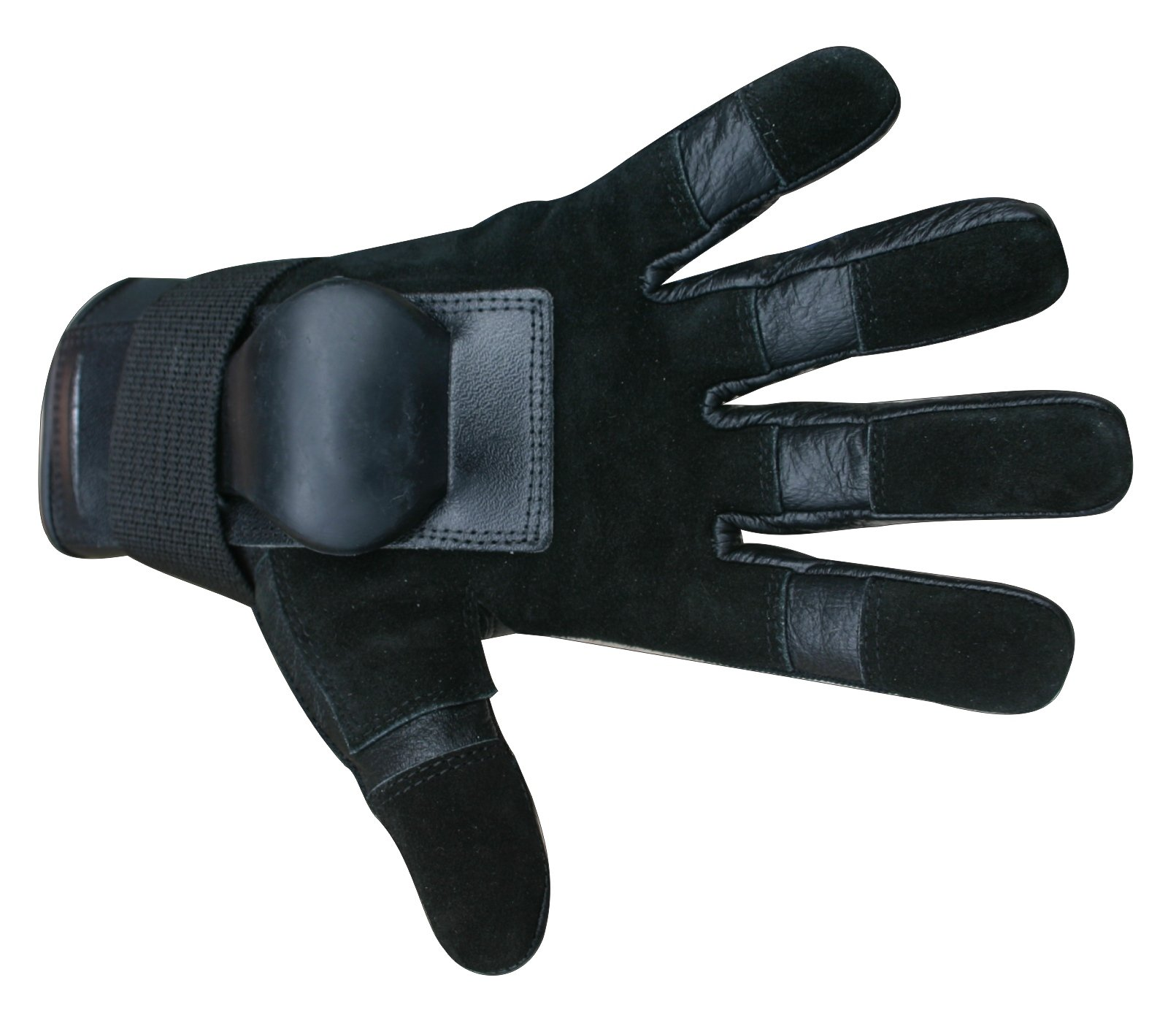Hillbilly Wrist Guard Gloves - Full Finger (Black, Medium) by Hillbilly protective gear
