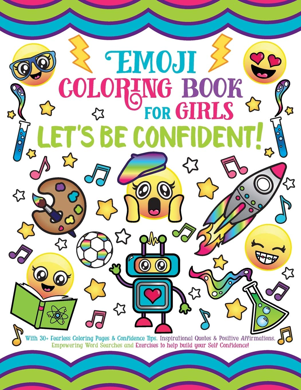 - Emoji Coloring Book For Girls: Let's Be Confident!: Spectrum, Nyx