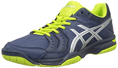 cheap for discount d4450 53f68 ASICS Gel-Squad, Chaussures de Gymnastique Homme, Bleu (Insignia Blue Silver