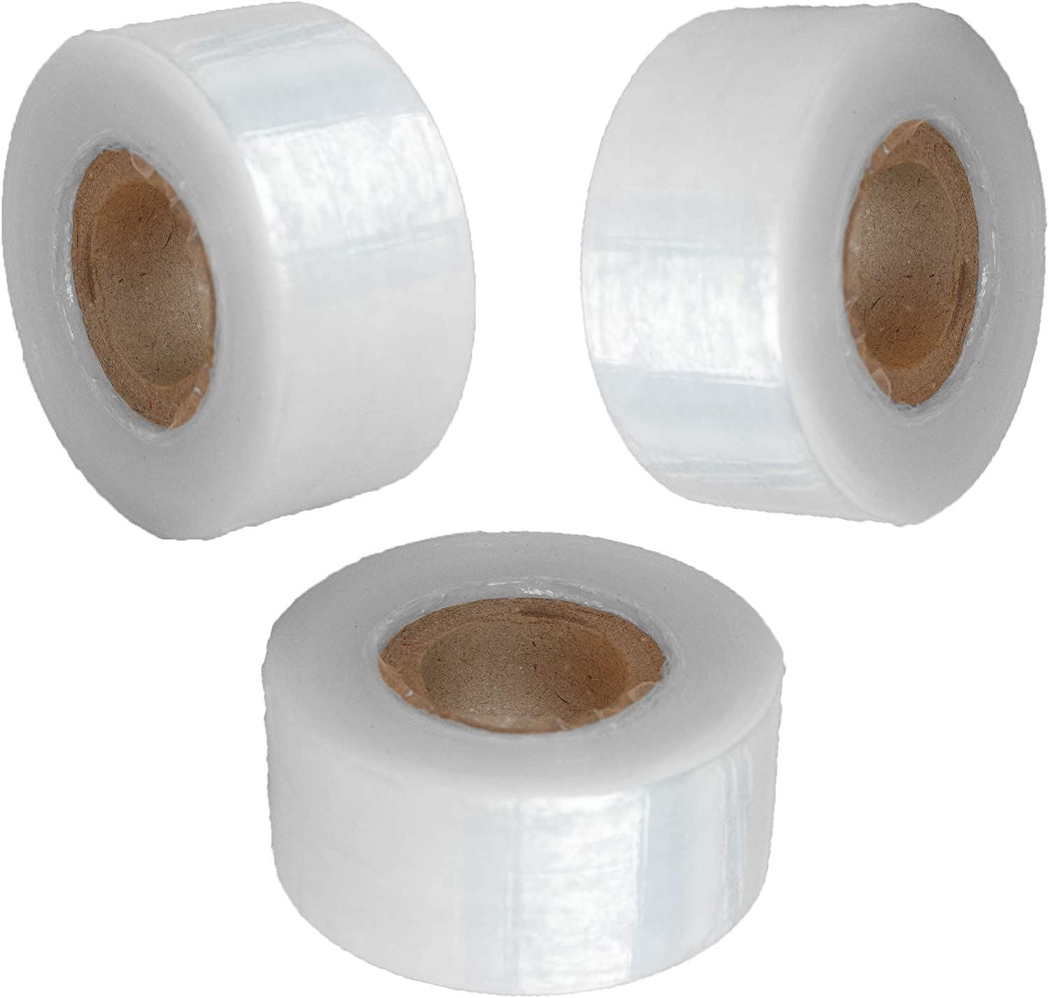 Suplklz Self-Adhesive Garden Grafting Tape Plant Repair Tapes Moisture Barrier Stretchable Clear Film for Fruit, Floral, Tree and Plants Ploy Budding Tape Graft Tool Nursery Tape