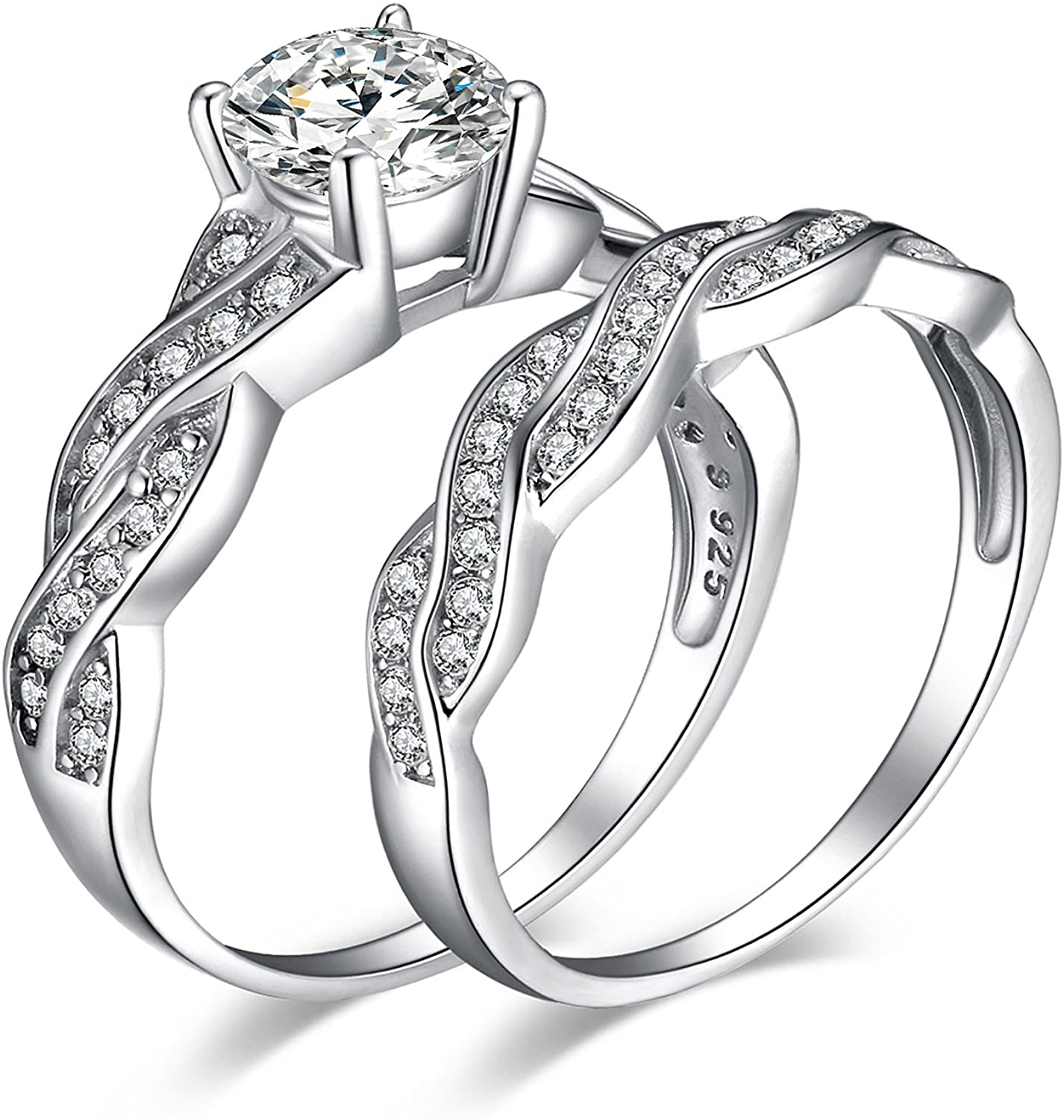 Jewelrypalace Wedding Rings Engagement Rings For Women Anniversary