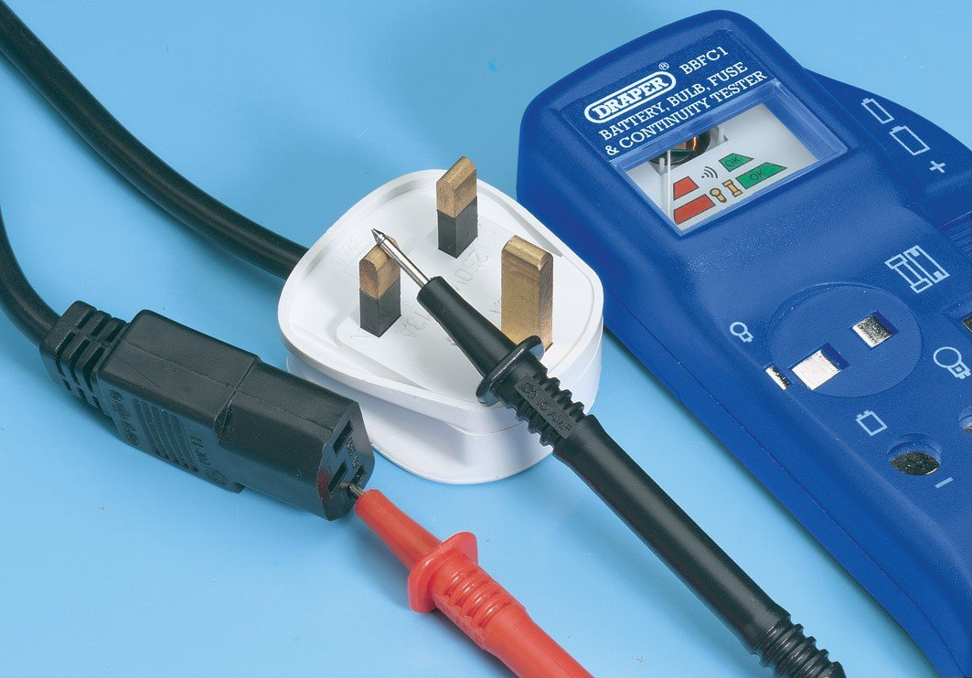 Draper 57574 Battery, Bulb and Fuse Continuity Tester: Amazon.co.uk ...