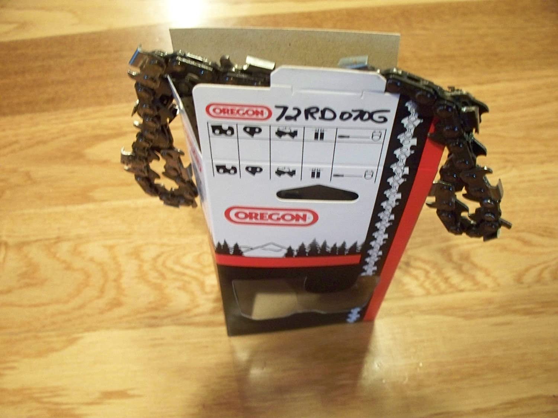 1 72RD070G Oregon 20 inch 3/8 pitch .050 gauge 70 DL Ripping chainsaw chain 20