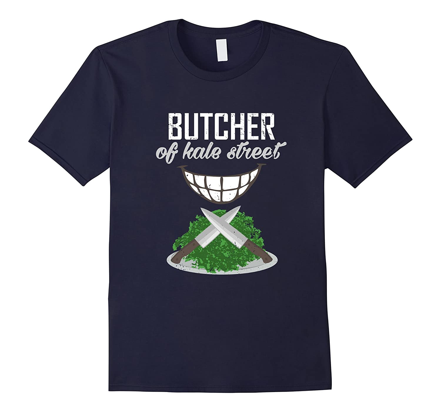 Butcher of Kale Street - Vegan T-Shirts-TD