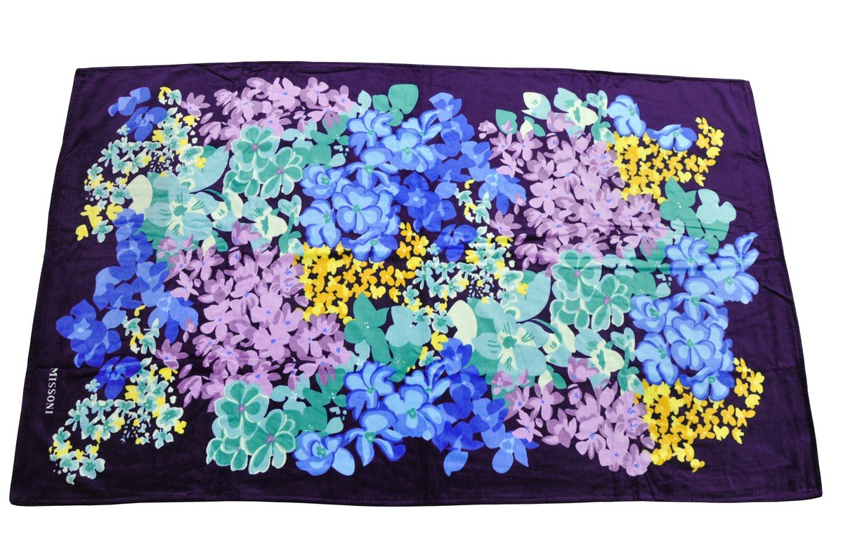 Missoni Home Toalla Towel Telo Mare servilleta toalla 175 x 100 cm - Naranja Label: Amazon.es: Hogar