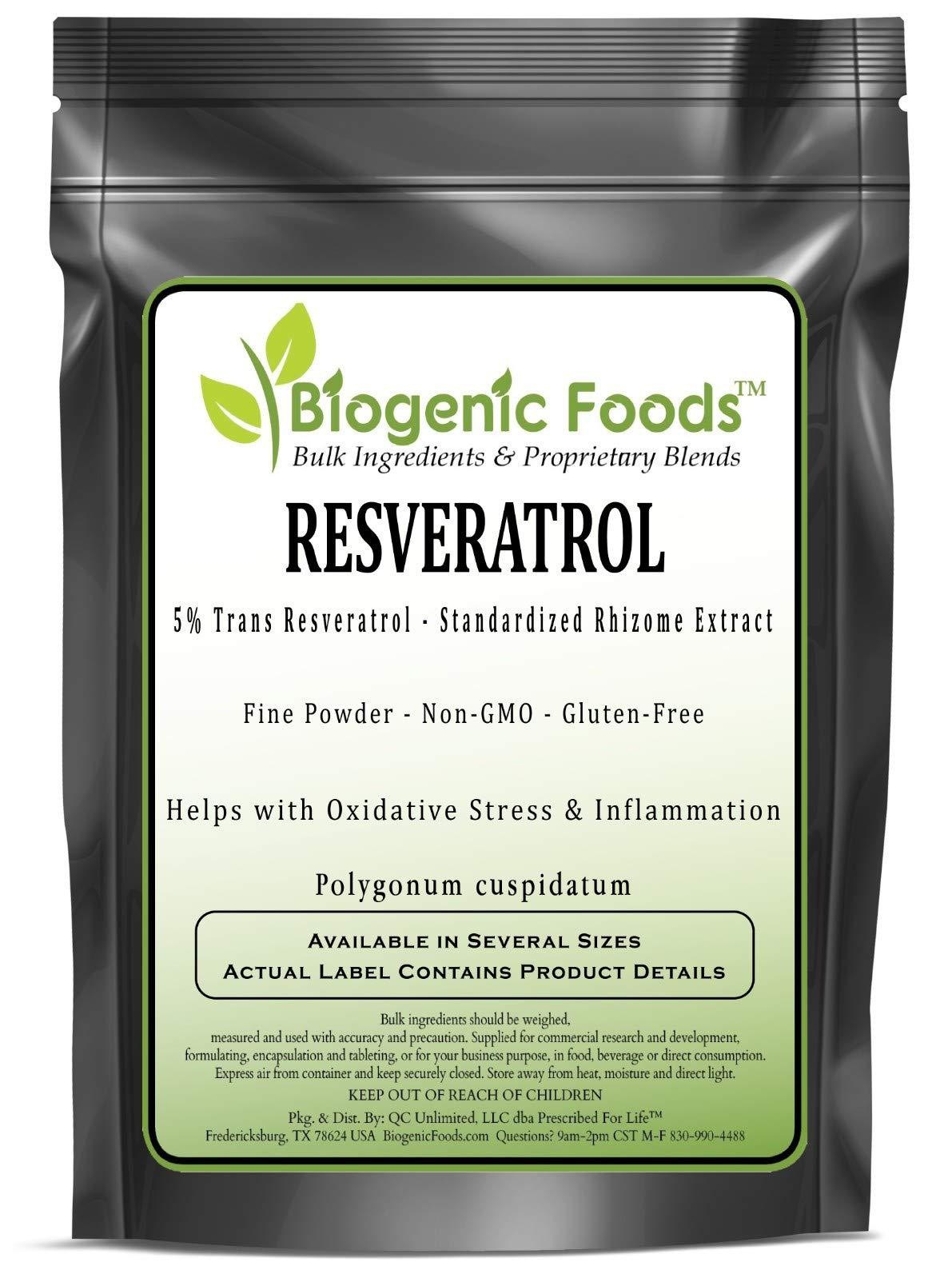 Resveratrol - 5% Trans Resveratrol - Standardized Rhizome Fine Powder Extract (Polygonum cuspidatum), 10 kg
